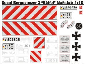 Decalsatz Bergepanzer 3 Büffel