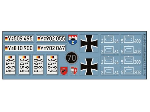Decalsatz Leopard 2 A6