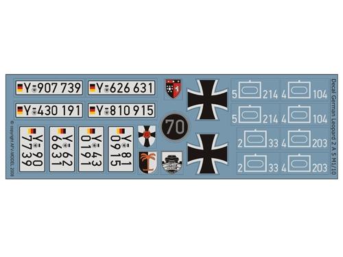 Decalsatz Leopard 2 A5
