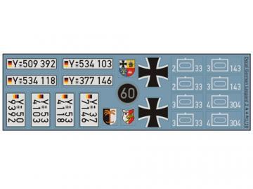 Decalsatz Leopard 2 A4
