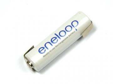 Einzelzelle Sanyo Eneloop 1,2 V 2000 mAh mit Lötfahne