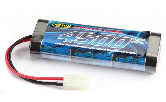 Racing Pack 4500 MAh, NIMH 7,2V