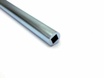 Stahlrohr verzinkt mit Innenprofil Typ 4 Kant 16mm