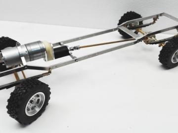 Komplettkit Sprinter 2WD für Bruder Modell 1:16