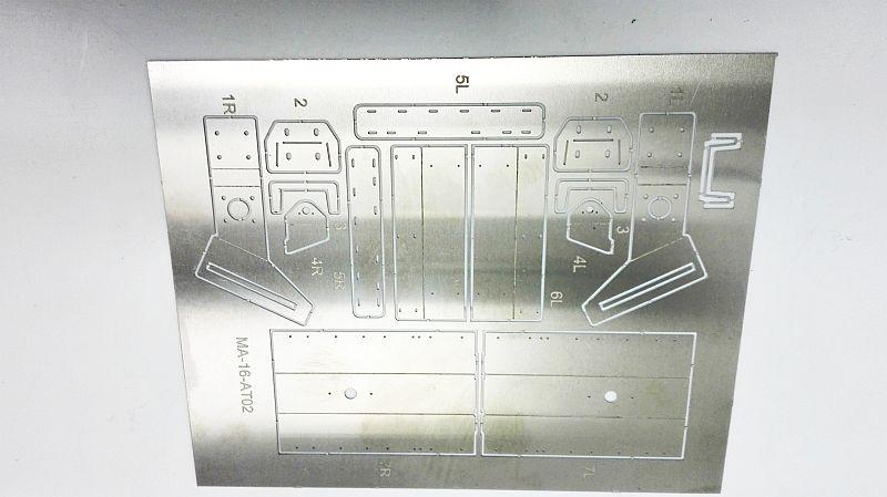 MAN SX/HX Ätzteil Rückleuchtenhalter