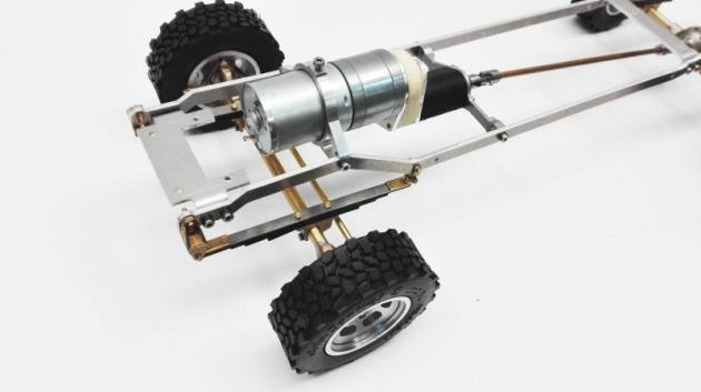 Komplettkit Sprinter 4WD Bruder Modell 1:16
