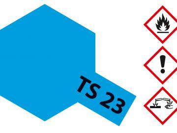 Tamiya Acryl Sprühfarbe TS-23 Hellblau glänzend