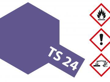 Tamiya Acryl Sprühfarbe TS-24 Violett glänzend