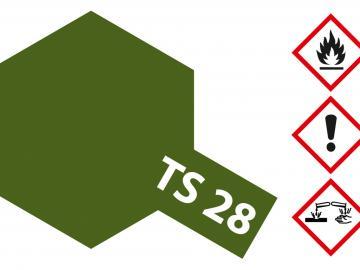 Tamiya Acryl Sprühfarbe TS-28 Braunoliv 2 matt
