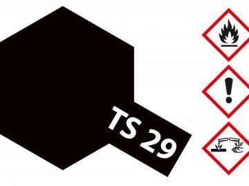 Tamiya Acryl Sprühfarbe TS-29 Schwarz seidenmatt