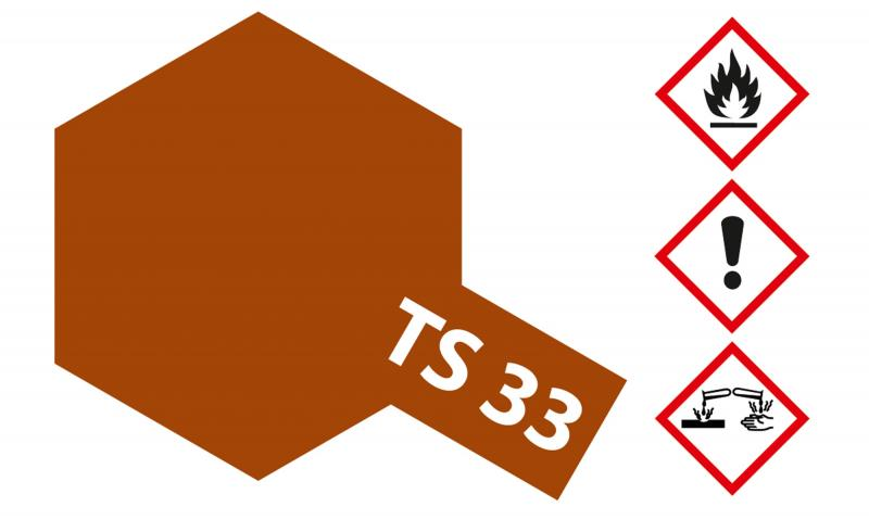 Tamiya Acryl Sprühfarbe TS-33 Rumpf-Rot matt