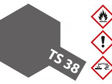 Tamiya Acryl Sprühfarbe TS-38 Gun Metall seidenmatt