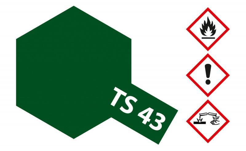 Tamiya Acryl Sprühfarbe TS-43 Racing Grün glänzend