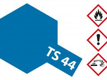 Tamiya Acryl Sprühfarbe TS-44 Billant Blau glänzend
