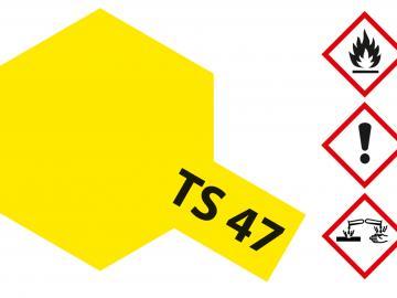 Tamiya Acryl Sprühfarbe TS-47 Chromgelb glänzend