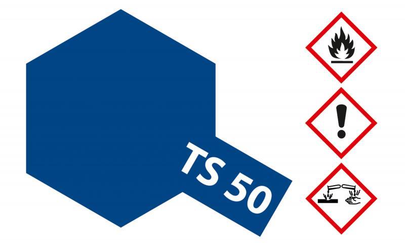 Tamiya Acryl Sprühfarbe TS-50 Mica Blau (Glimmer) glänzend