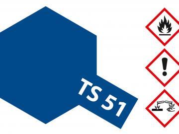 Tamiya Acryl Sprühfarbe TS-51 Racing Blau (Tf) glänzend