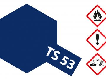 Tamiya Acryl Sprühfarbe TS-53 Blau Dunkel glänzend