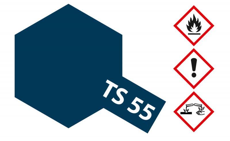 Tamiya Acryl Sprühfarbe TS-55 Dunkelblau glänzend