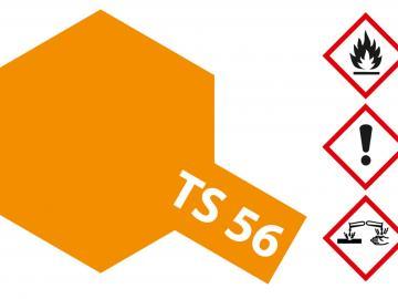 Tamiya Acryl Sprühfarbe TS-56 Brillant Orange glänzend