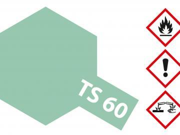 Tamiya Acryl Sprühfarbe TS-60 Grün Perleffekt glänzend