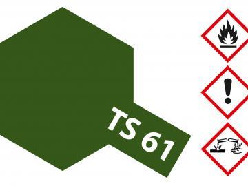 Tamiya Acryl Sprühfarbe TS-61 NATO Grün matt