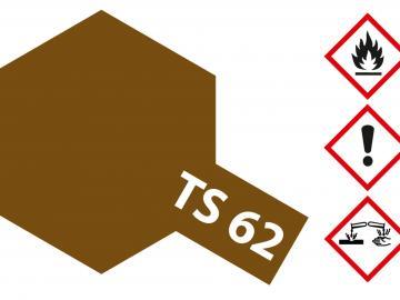 Tamiya Acryl Sprühfarbe TS-62 NATO Braun matt
