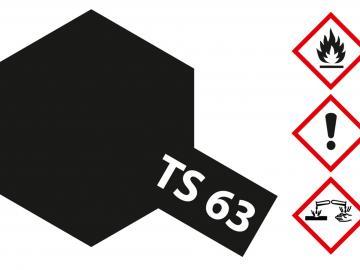 Tamiya Acryl Sprühfarbe TS-63 NATO Schwarz matt