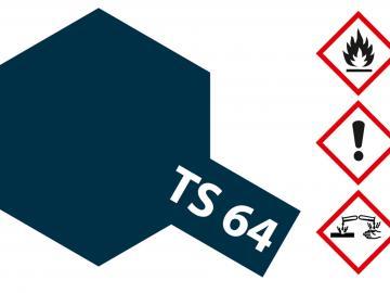 Tamiya Acryl Sprühfarbe TS-64 Mica Blau dkl. (Glimmer)