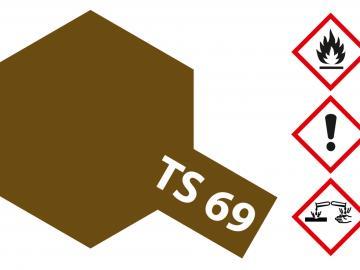 Tamiya Acryl Sprühfarbe TS-69 Linoleum Deck Braun matt