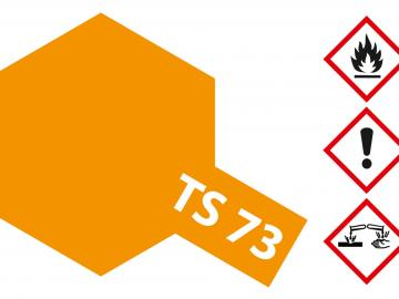 Tamiya Acryl Sprühfarbe TS-73 Orange Transparent/Klar glänzend
