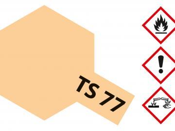 Tamiya Acryl Sprühfarbe TS-77 Fleischfarben matt