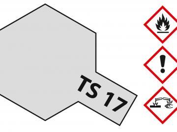 Tamiya Acryl Sprühfarbe TS-17 Aluminium Silber glänzend