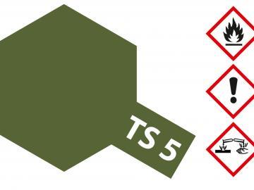 Tamiya Acryl Sprühfarbe TS-5 Braunoliv1 (Oilve Drab1) matt