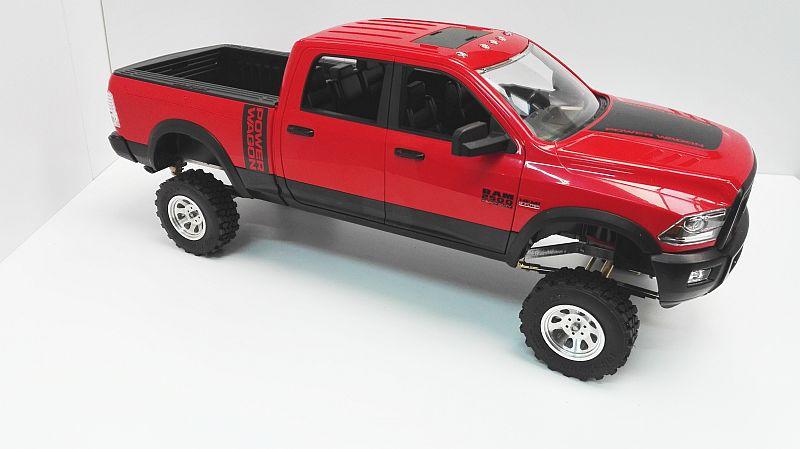 Komplettkit Dodge Ram 2WD für Bruder Modell 1:16