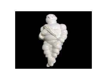 Beleuchtetes Michelin Männchen 25mm weiss LED
