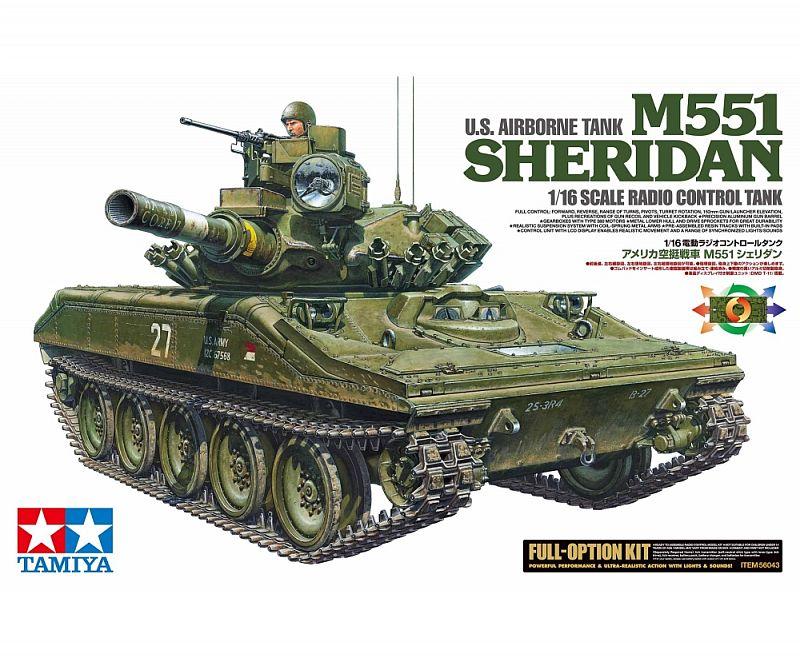 US M551 Sheridan Kit Full Option 56043