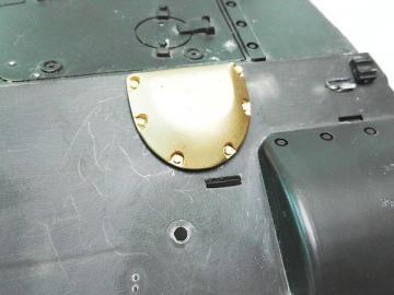 Panzerung Abluft Front für Gepard