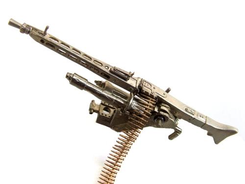 MG3 oder MG42 Patronengurt Messing 1:16