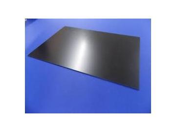 Polystyrolplatten 400x300mm schwarz