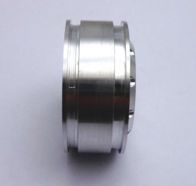 Rundlochfelge Tamiya in Aluminium