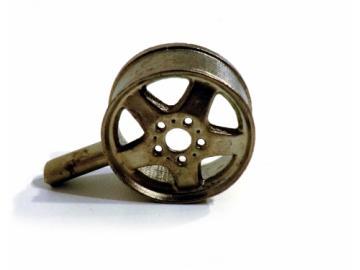 5 Stern-Felge schmal/glatt für Reifen RE16117