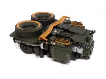 Bausatz Leopard 2 Triebwerk M1:16