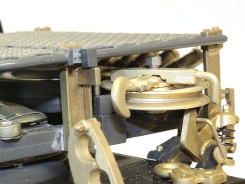 Metallteile Geräteträger Büffel