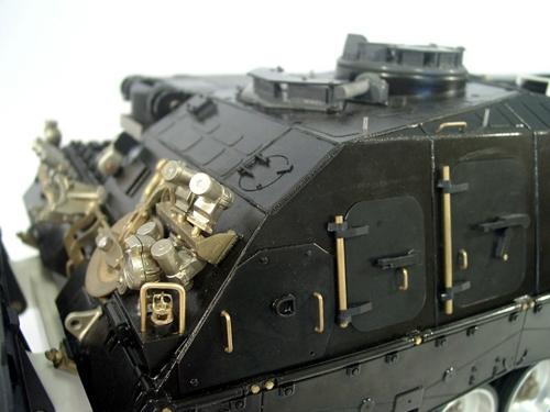 Halter Nebelbecher Front für Bergepanzer 3 Büffel