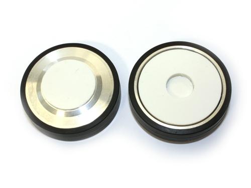 2 Reservelaufrollen für Geräteträger