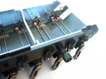 Wannenversteifung Metall Bergepanzer 3 Büffel