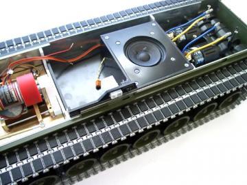 Soundbox für Bergepanzer 3 Büffel