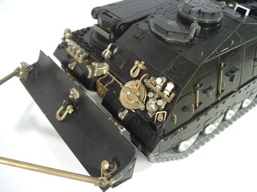 Komplettkit Oberteil Bergepanzer 3 Büffel