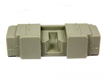 Klimaanlage Heck Gepard A1/A2